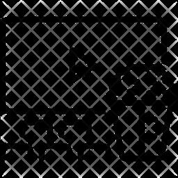 Intervals Line Icon