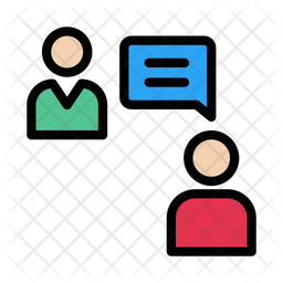 Interview Icon Of Colored Outline Style Available In Svg Png Eps Ai Icon Fonts