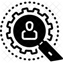 Investigation Glyph Icon