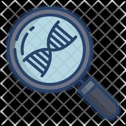 Investigation Colored Outline Icon