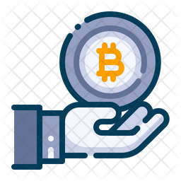 Investment in bitcoin Icon