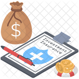 Investment Insurance Icon