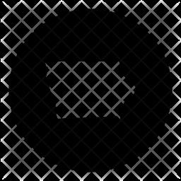 Iowa Glyph Icon