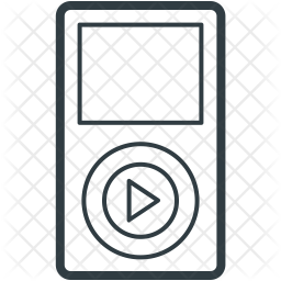 Ipod Line Icon
