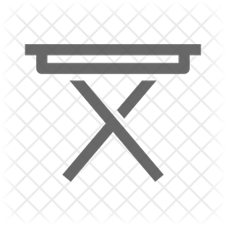 Iron Table Icon
