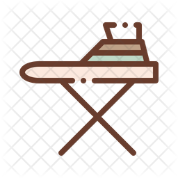 Ironing Table Icon
