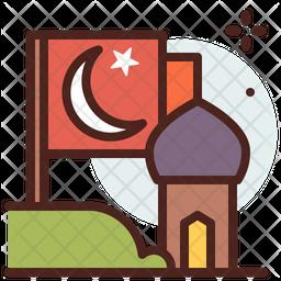 Islamic Flag Icon