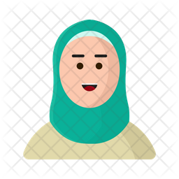 Islamic Women Icon