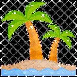 Island Beach Icon