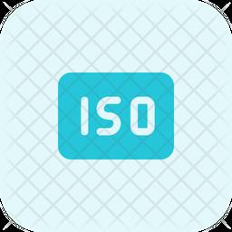 Iso Flat Icon