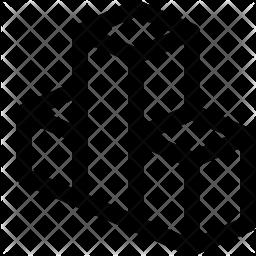 Isometric chart Icon