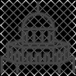 Israeli Temple Icon