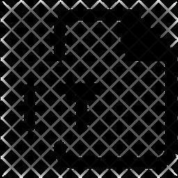 It File Glyph Icon