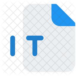 It File Gradient Icon