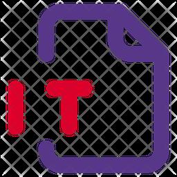 It File Dualtone Icon