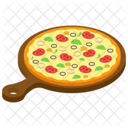 Italian Sausage Pizza Icon