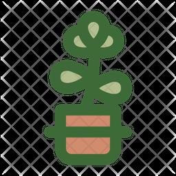 Jade Plant Icon