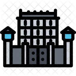 Jail, City, House, Realtor, Real, Estate Icon