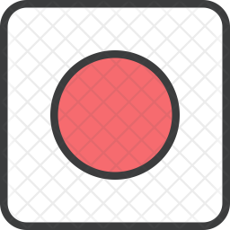 Japan Flag Icon Of Colored Outline Style Available In Svg Png Eps Ai Icon Fonts