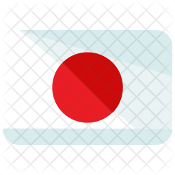 Japan Flag Icon Of Flat Style Available In Svg Png Eps Ai Icon Fonts