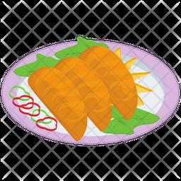 Japanese Food Platter Icon