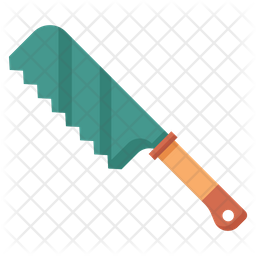 Japanese Saw Icon