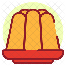 Jelly Colored Outline Icon