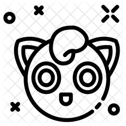 Jigglypuff Line Icon