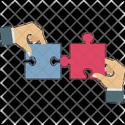 Jigsaw Playing Icon
