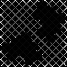 Jigsaw Puzzle Logo Icon