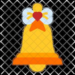 Jingle Bell Flat Icon