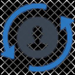 Job replacement Icon