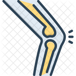 Joint Colored Outline Icon