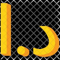 Jordan Flat Icon