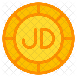 Jordanian Dinar Icon