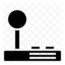 Joystick Glyph Icon