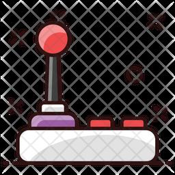 Joystick Colored Outline Icon