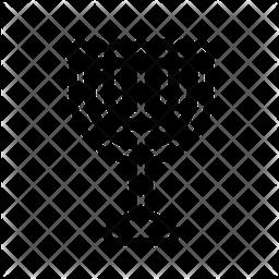 Judaism Line Icon