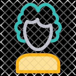 Judge Colored Outline Icon