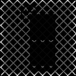 Juice Glass Glyph Icon