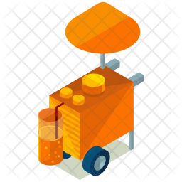 Juice stall Icon
