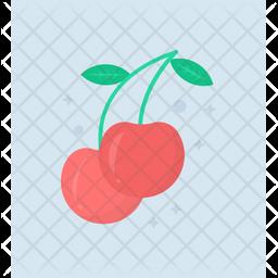 Juicy Cherry Icon