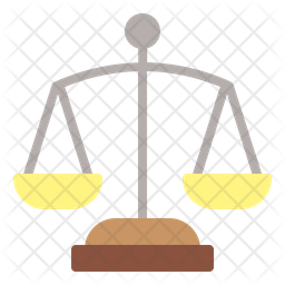 Justice Flat Icon