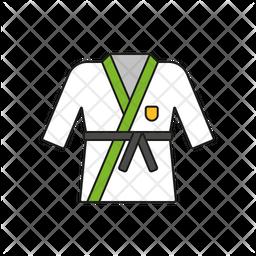 Judo Suit Icon