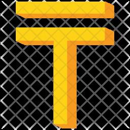 Kazakhstan Flat Icon