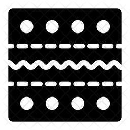 Kente Cloth Icon