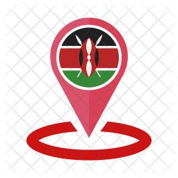 Kenya Flag Icon