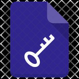 Key file Icon