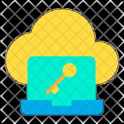 Key Laptop Icon