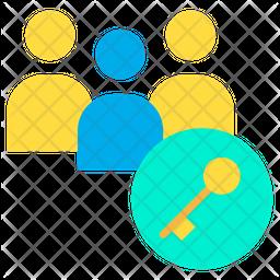 Key Users Icon